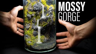 Moss Gorge Waterfall In a Jar