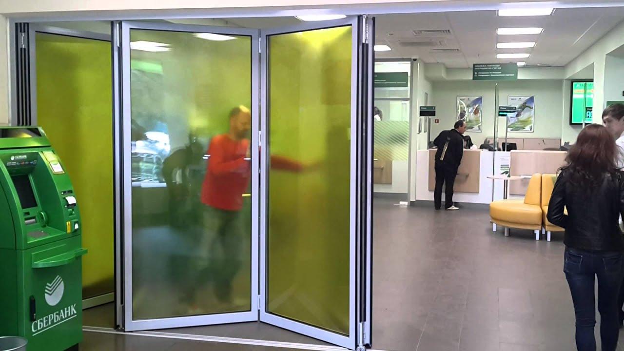 Дверь Гармошка. Установка своими руками - YouTube