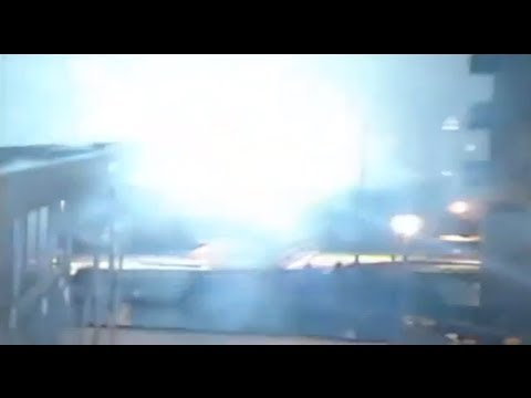 Massive transformer explosion at New York  power plant