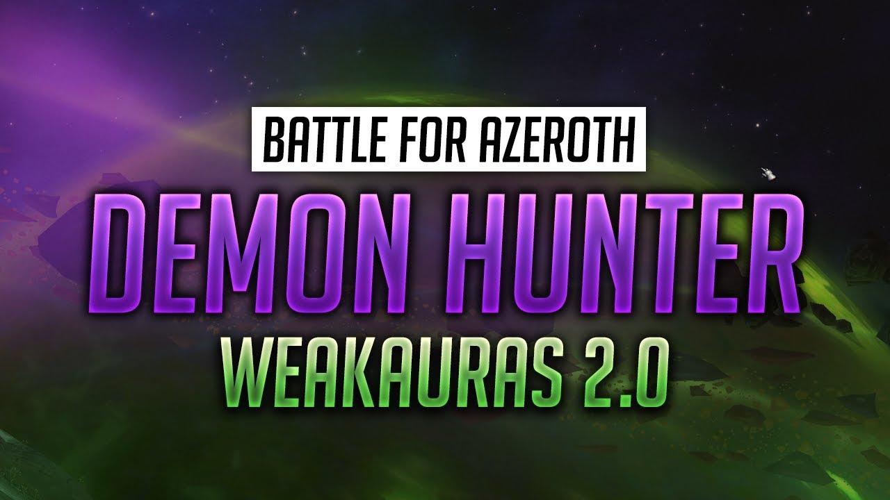Demon Hunter WeakAuras for World of Warcraft - Luxthos