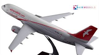 Air Arabia Airbus A320 - Resin Aircraft Model