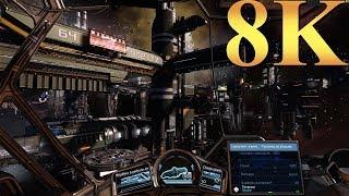 X Rebirth 8K Gameplay Titan X Pascal 4 Way SLI PC Gaming 4K | 5K | 8K and Beyond
