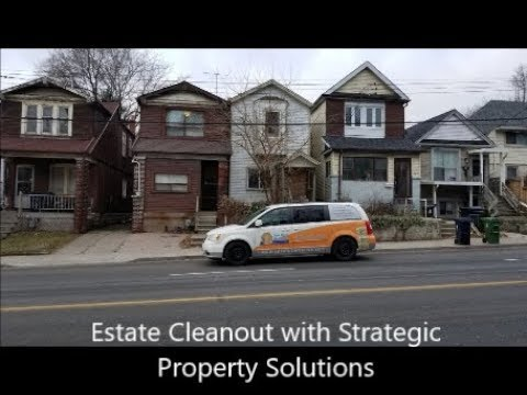 Toronto Estate Cleanout wtih Strategic Property Solutions