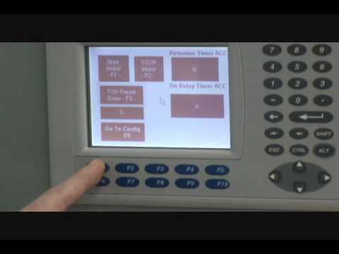 Automation of Allen Bradley PLC's, VFD,HMI at University of Bridgeport