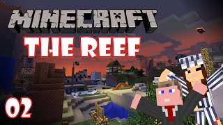 Minecraft Server Showcase: The Reef - E02 | I Found a Fallen Starr!