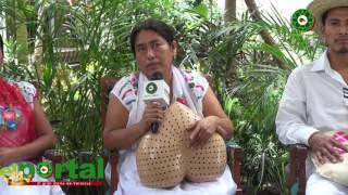"""""""Vive la Riqueza Indígena"""", en el WTC de Boca del Río."""