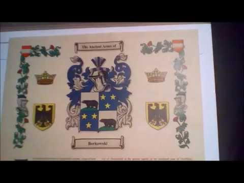 My Family's Coat of Arms
