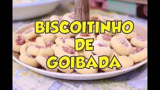 COMO FAZER BISCOITINHO AMANTEIGADO COM GOIABADA