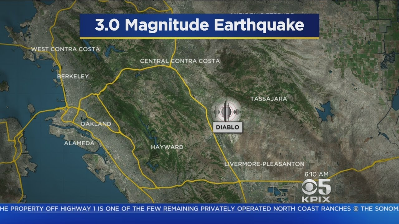 4.3 Magnitude Earthquake Rattles East Bay, 3.5 Temblor Follows