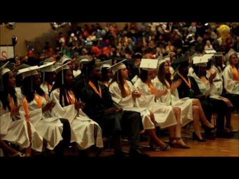 Lean on Me at Graduation without music- Classical Magnet School