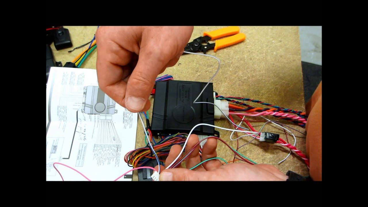 Part 9 Start To Finish Alarm Remote Start Installation