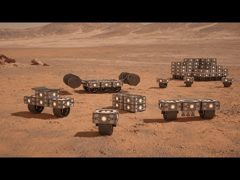 THIS Is How We Build On Mars