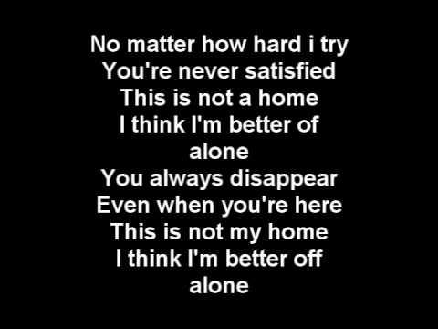 Three Days Grace - Home + lyrics