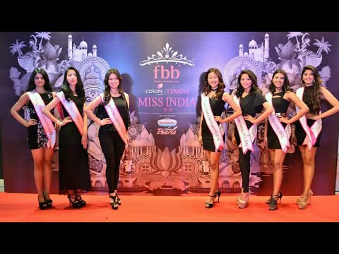 Miss India 2018 - Northeast Auditions Live