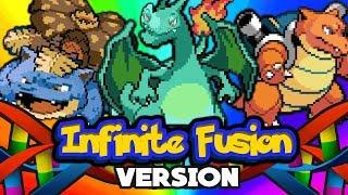 Pokemon Infinite Fusion Randomizer Nuzlocke - 115 000 SUBSKRYBENTÓW JUŻ DZIŚ? ❤️