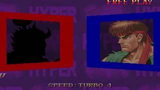 Hyper Street Fighter 2 ~ Shin Akuma 【TAS】