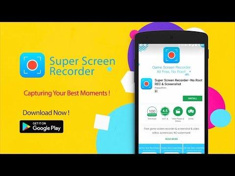 Super Screen Recorder–No Root REC & Screenshot - Apps on Google Play