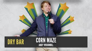 Crazy corn mazes are the perfect place to leave kids.  Andy Woodhull