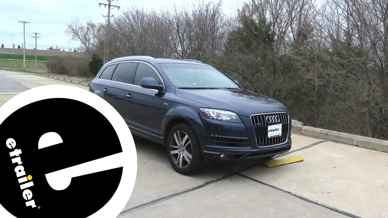 etrailer | Best 2012 Audi Q7 Trailer Wiring Options - YouTube | Audi Q7 Trailer Wiring |  | YouTube