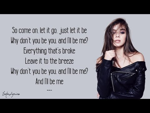 Hailee Steinfeld - Let It Go (Lyrics)