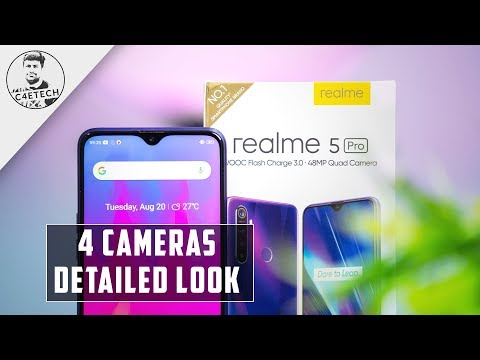 Realme 5 Pro Quad Cam SD712 14k Unboxing and Hands On Review