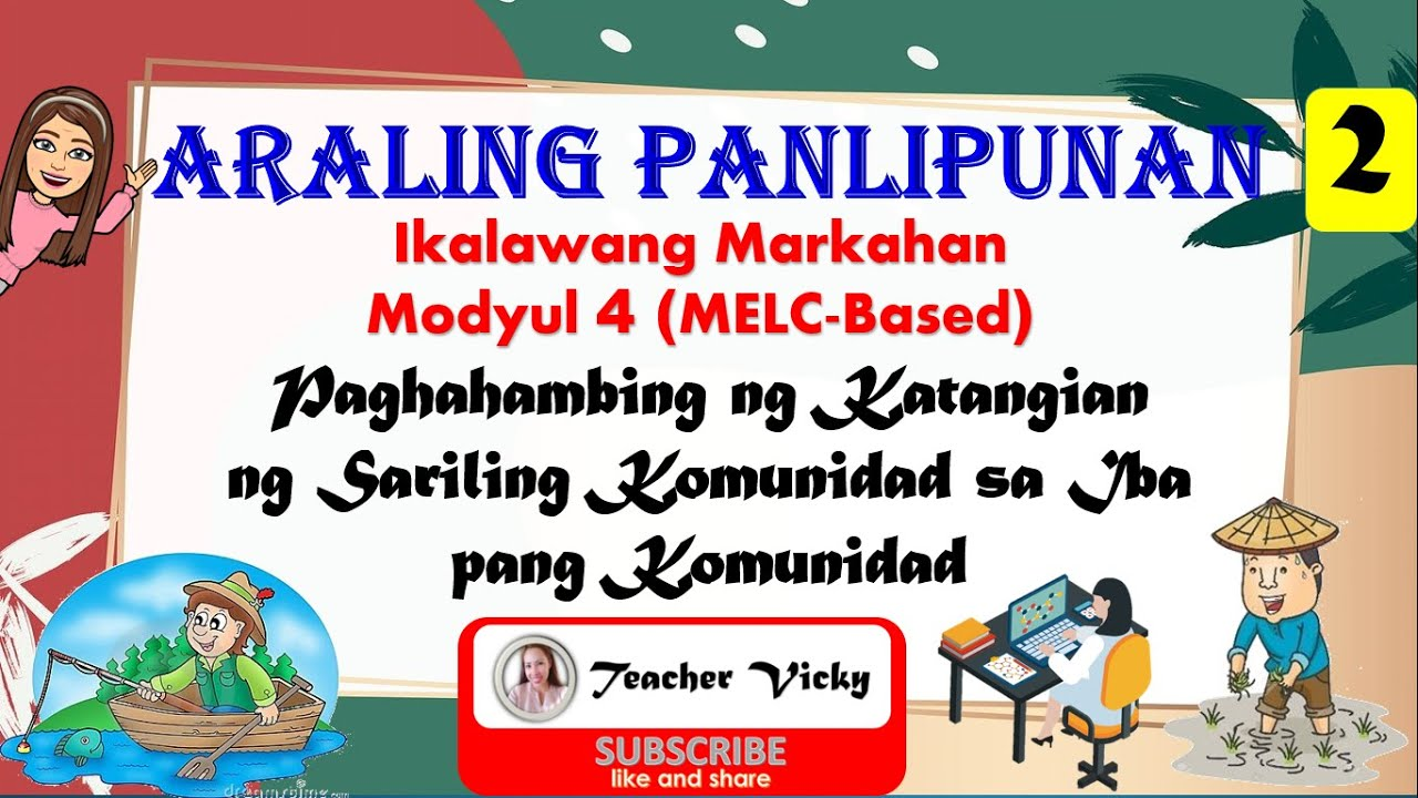 medium resolution of Araling Panlipunan 2    Paghahambing ng Katangian ng Sariling Komunidad sa  Iba pang Komunidad - YouTube