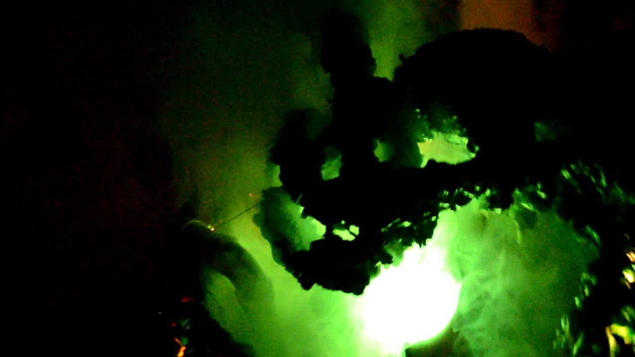 toxic waste barrel zombie halloween 2012 youtube