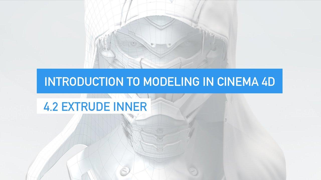 4 2 Extrude Inner in Cinema 4D