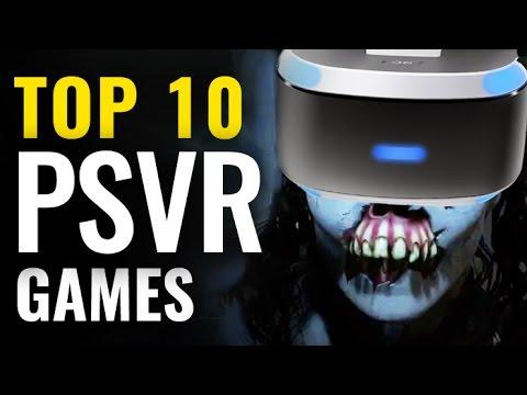 Top 10 PlayStation VR Games So Far  |  Best PSVR video games