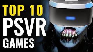 Top 10 PlayStation VR Games So Far  |  Best PSVR video games