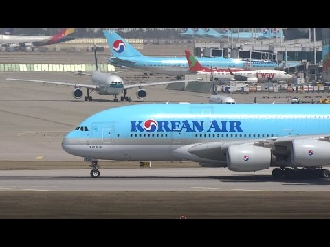 Plane Spotting 2017 – Seoul Incheon Airport (ICN)