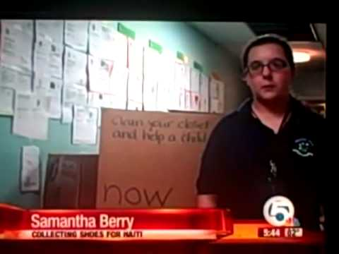 Baldwin Prep School -- NBC -- Donate Your Old Shoes 5/28/10