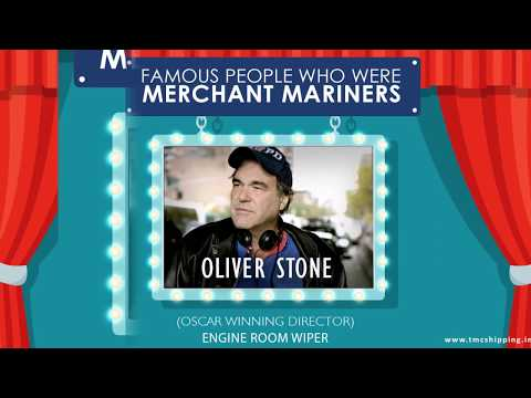 Merchant Mariners Who Went on To Become Famous People