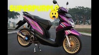 Download Video Modifikasi Honda Beat Fi SUPER PURPLE Babylooks Style MP3 3GP MP4