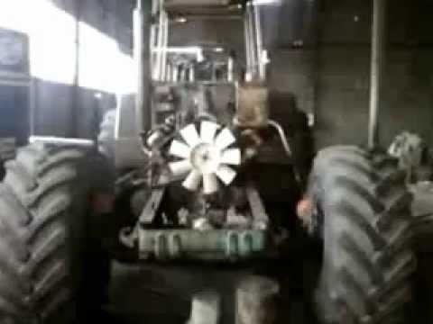 Сборка трактора БИЗОН