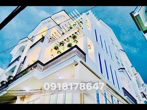 Biệt thự phố khủng 6.8m x 15m góc 2 MẶT TIỀN thiết kế hoàn hảo nội thất cao cấp Nhà Bán Gò Vấp