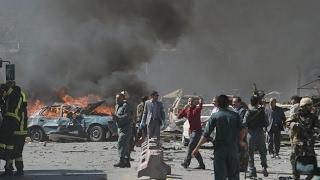 Afghanistan  Scores killed as huge explosion rocks Kabul's diplomatic quarter