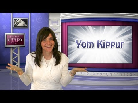 Tap Into... Yom Kippur! (for kids)