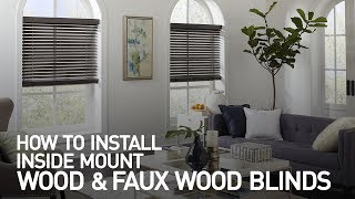 How to Install Inside Mount Wood and Faux Wood Blinds Mp3