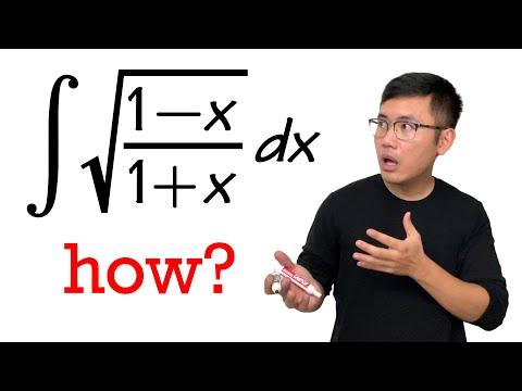 Integral of sqrt((1-x)/(1+x))