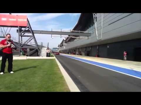 Ferrari FXX at Silverstone