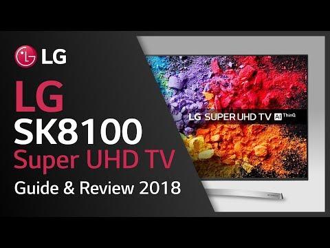 LG Super UHD TV | SK8100 product vídeo| 4K HDR TVs