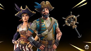 NEW SKINS-WOLF OF SEA ET BUCANERA-NEW FORTNITE STORE 10/04/19