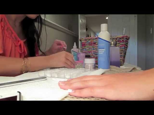 Girls Day Out, Trash Picking & Acrylic Nails: July 12-13, 2014
