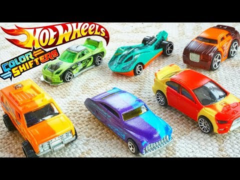 Hot Wheels Color Shifters Cars 2018 City Changers Are