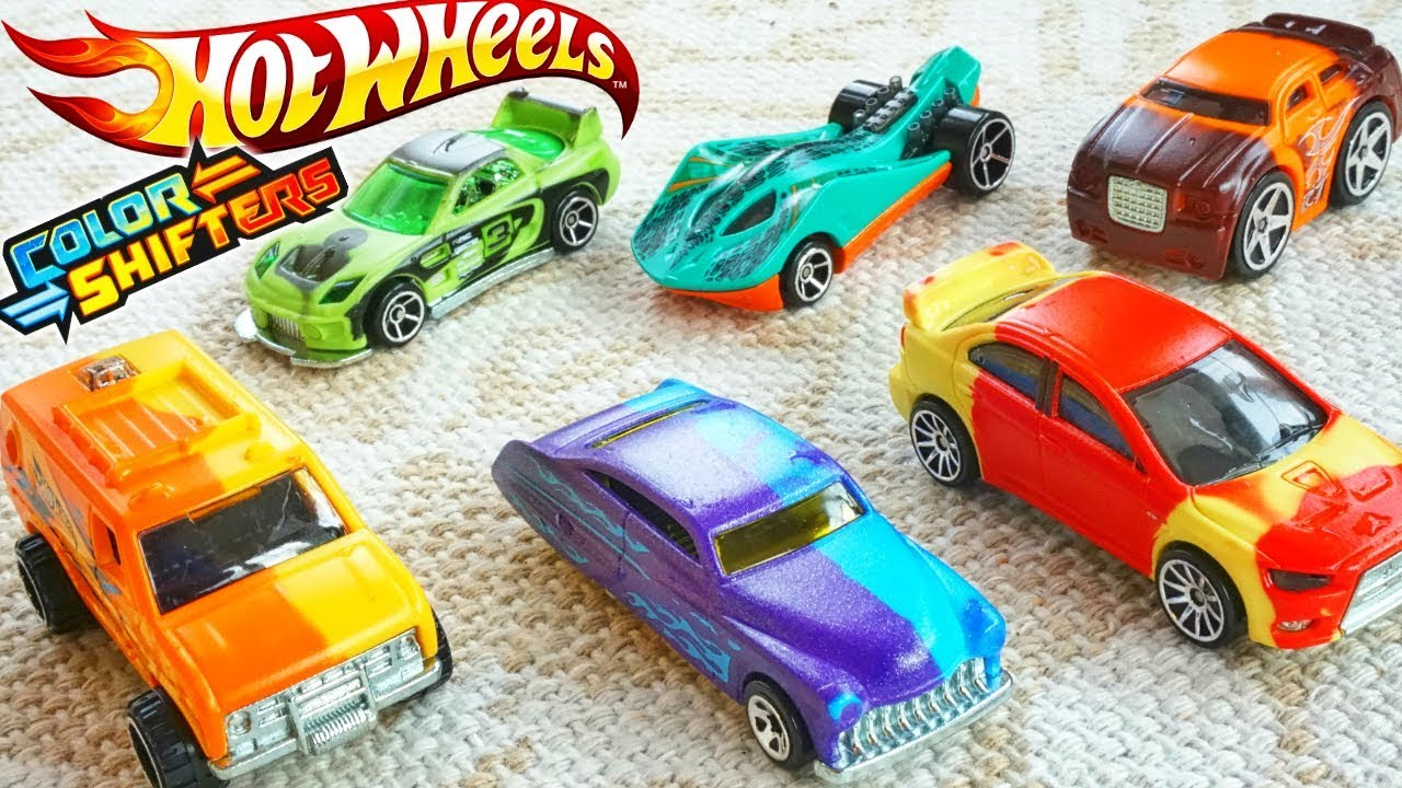 Hot Wheels Color Shifters Cars 2018 City Changers Are Awesome