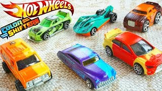 Hot Wheels COLOR SHIFTERS Cars 2018 City Changers are Awesome!