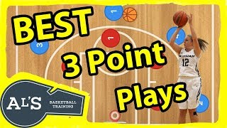 The BEST Corner 3 Point Basketball Plays