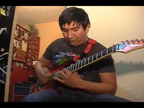 Andy james guitar solo contest - Arturo Baltazar - YouTube