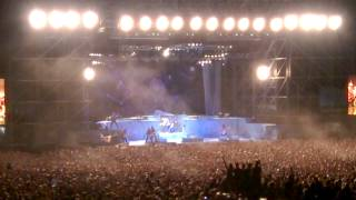 Run to the hills - Iron maiden - Bologna 2014, rock in Idro